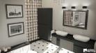 Klasyczny i elegancki salon kąpielowy London.