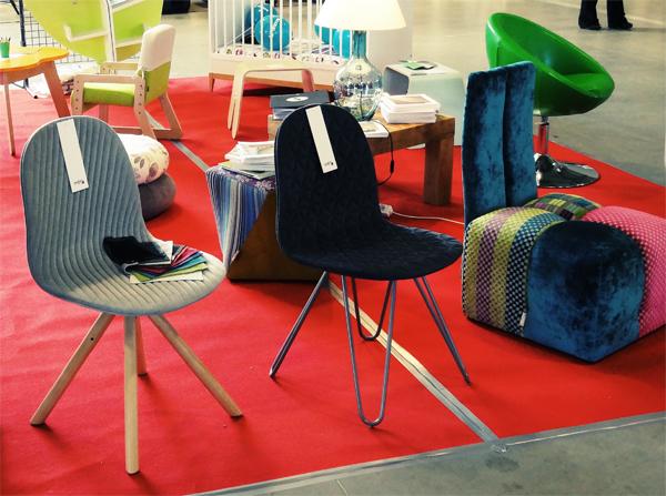 Krzesła Mannequin Fotel Neon - must have 2014, ikony polskiego designu na targach w Lublinie