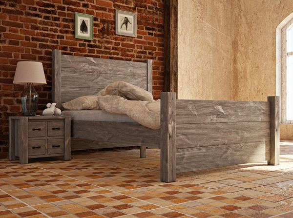 sypialnia w stylu wiejskim. Sypialnia w stylu country to coś co przypadnie do gustu zwolennikom naturalnego drewna i surowych klimatów