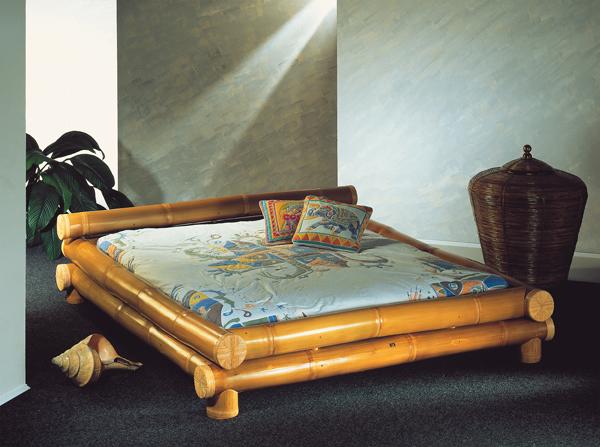 Sypialnia w stylu ezotycznym przeniesie nas w dalekie tropiki. Sprawi, że poczujemy klimat Acapulco przez cały rok