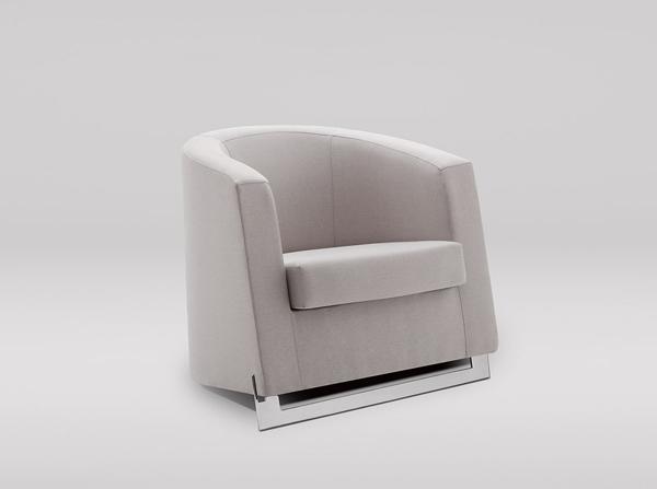 Fotel Noble świetnie sprawdzi się w gabinecie lub biurze. Elegancki i komfortowy. Wykonany z materiałów najwyższej jakości
