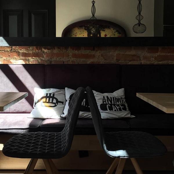 Mannequin iker krzesła do restauracji w stylu loft