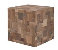 stolik decomosaic marki zuiver. W całości wykonany z drewna z odzysku