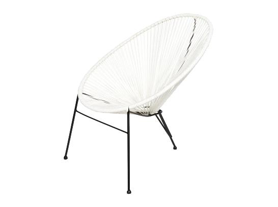 Białe krzesło do ogrodu, modne i designerskie sworzone z odpornych na wilgoć materiałów. Świetne krzesła na taras