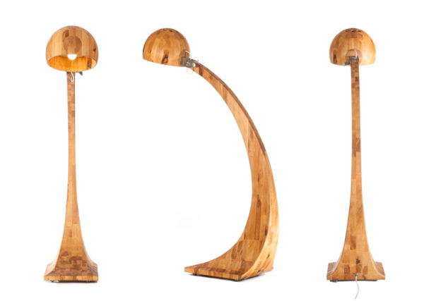 Polski design - Lampa wykonana w całości z drewna projektu Abadoc. Unikalna lampa doskonałej jakości. Do nowoczesnych salonów