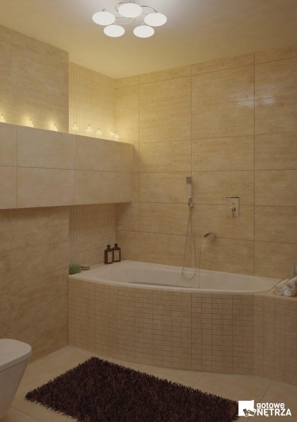 Klasyczna I Komfortowa łazienka Budapest Z Projektem Gratis