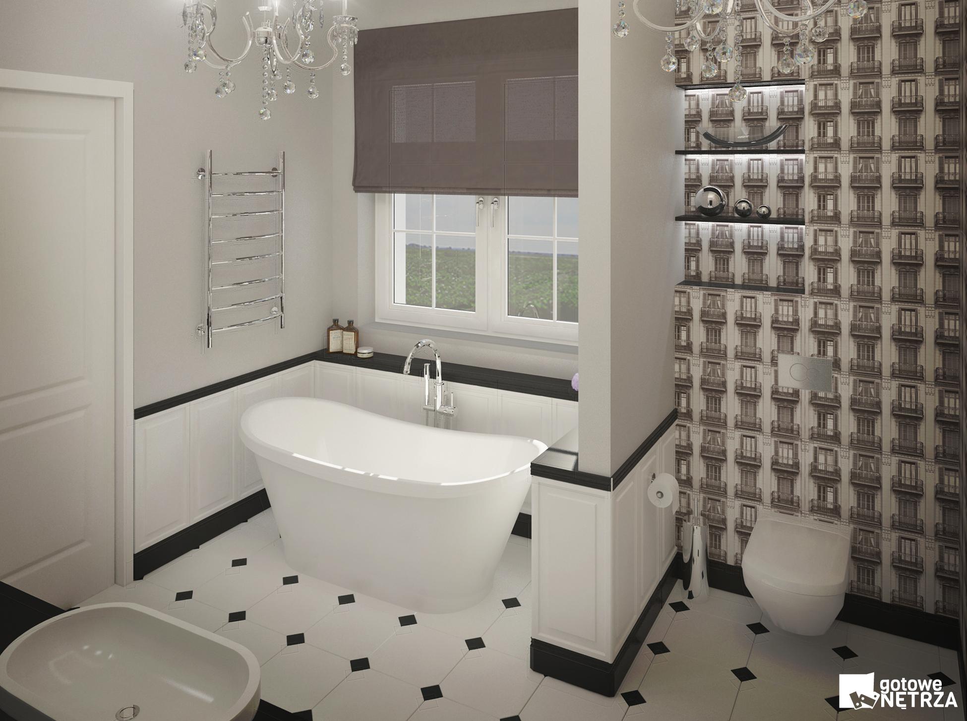 Luksusowy Salon Kąpielowy Z Projektem Gratis