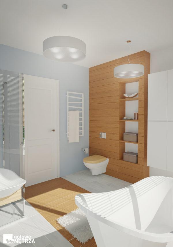 Komfortowa i ekologiczna łazienka Santorini z najwyższej jakośći materiałów.