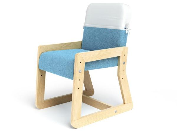 Regulowany fotelik dziecięcy lub też młodzieżowy, wysokość siedziska zależy od Ciebie.
