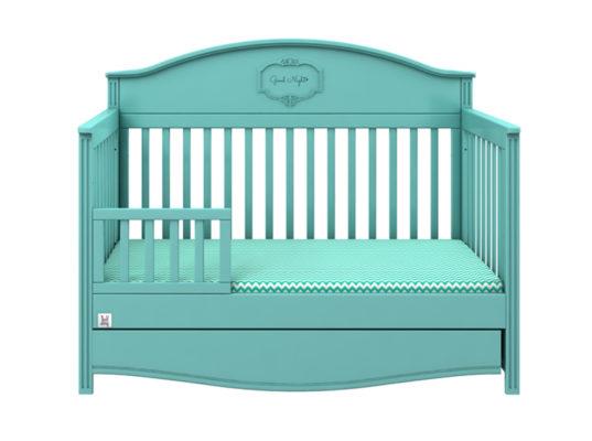 Funkcjonalne łóżeczka dzieciece służą dziecku przez długie lata. Zmieniają się w tapczanik, maja regulację wysokości materaca i szuflady. Oznaczaja sie pięknym wyglądem na długie lata