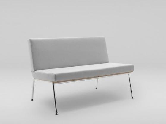 Sofa Fin w kolorze szarym producenta Marbet Style