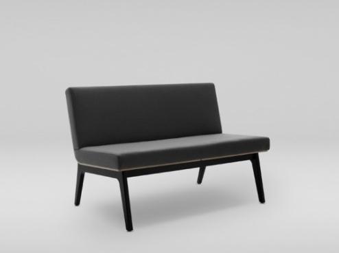 Sofa Fin w kolorze czarnym producenta Marbet Style
