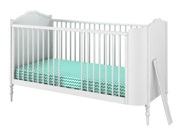 Łóżeczko good night by Anna Mucha bellamy łóżeczko dziecięce stworzone przez Annę Muchę to pochwała klasyki i funkcjonalności. Zwracamy uwagę, że łóżeczko posłuzy na długie lata. Ma wyjmowane szczebeleki oraz zamienia się w tapczanik