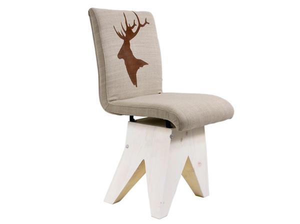 Unikalne krzesło od pary polskich projektantów Jacka i Marii Rypuła tworzących Gie El. Krzesło wykonane z materiałów z recyklingu. Gwarancja unikalności z nutką skandynawi