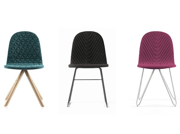 Krzesła Mannequin producenta Iker to świetny pomysł na nowoczesne krzesło do salonu czy jadalni. Różne rodzaje nóg, kolory i wzory tapicerowań. Świetne do jadalni