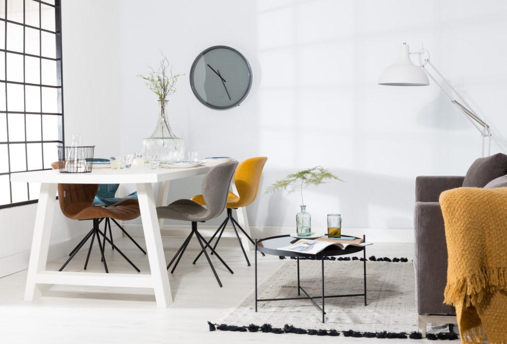 Nowoczesne krzesła do salonu. Krzesła omg w stylu skandynawskim. Modne krzesła na długie lata