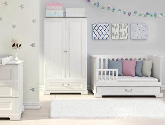 jakie łóżeczko dla dziecka wybrać. Przede wszystkim funkcjonalne i bezpieczne. Łóżeczko z funkcjątapczanika będzie idealnym mebelkiem na długie lata