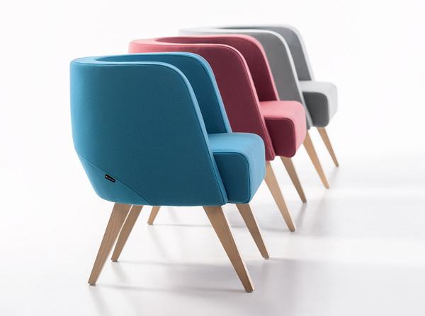 Fotel Neon producenta Marbet Style doskonały jako fotel do gabinetu.