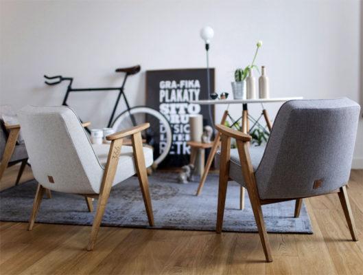 Fotel 366 Concept laureat Must have 2015. Świetny fotel do wnętrz w stylu vintage. Kultowy mebel polskiego designu. Fotel komfortowy w stylu lat 60-tych