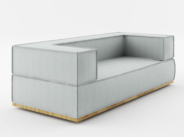 nowoczesna sofa dwuosobowa modułowa świetny design