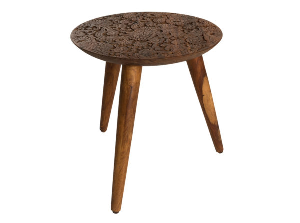 stolik by hand producenta dutchbone. Oryginalny stolik drewniany