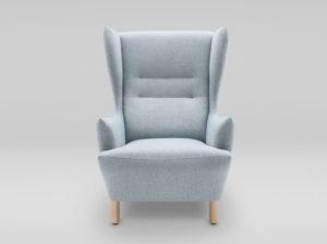 Fotel Muno producenta Marbet Style Grynasz Studio. Polski projekt. Komfortowy fotel do wymarzonego wnętrza. Wiele kolorów i materiałów. Możliwość zamówienia wzornika materiałów do domu