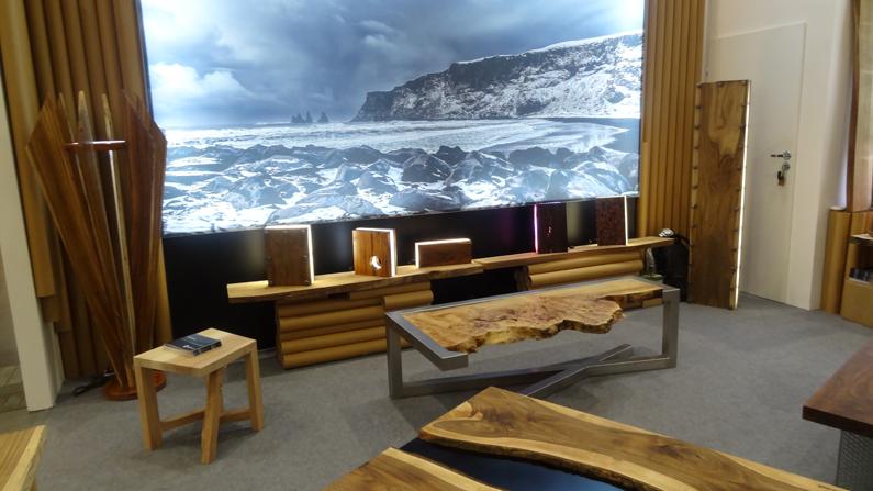 Arena design 2017 stoły drewniane