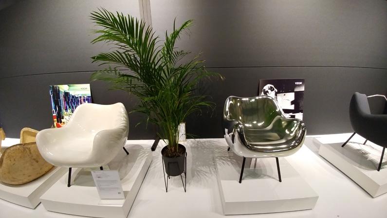 Fotel RM58 Vzor Targi Warsaw Home 2017 - Vzor