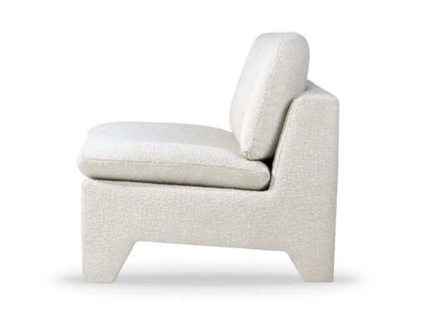 Fotel wypoczynkowy Retro kremowy HK Living