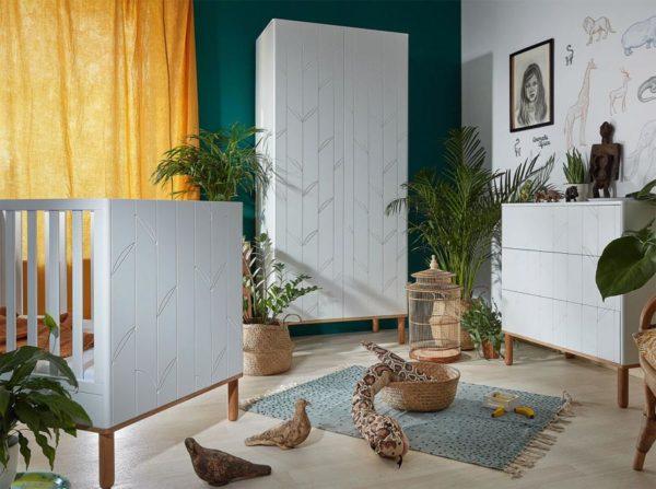 Kolekcja mebli dziecięcych Toteme botanic Bellamy
