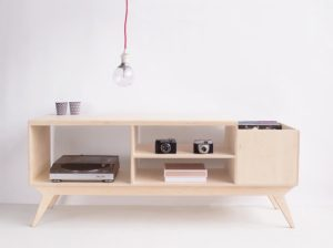 Komoda Drupal vinyl Wood Republic