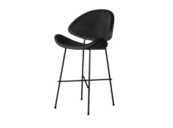 Krzesło barowe Cheri velours Iker