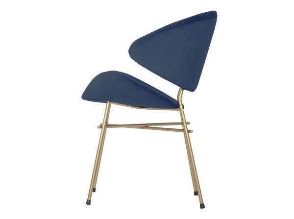 Krzesło Cheri Gold velours Iker