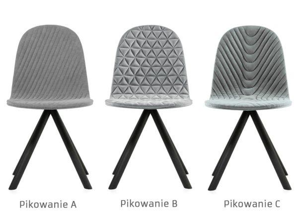 Krzesło Mannequin Black 01 Iker