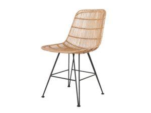 Krzesło rattanowe naturalne HK Living
