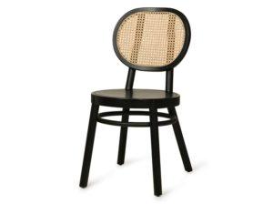 Krzesło Retro czarne HKliving
