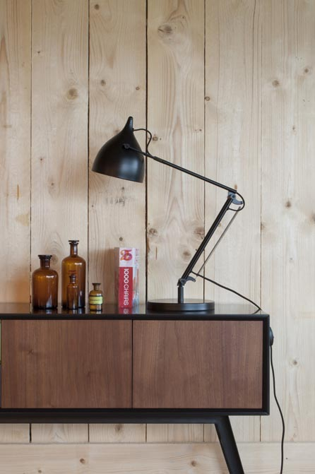 Lampa biurkowa Reader Matt czarna Zuiver