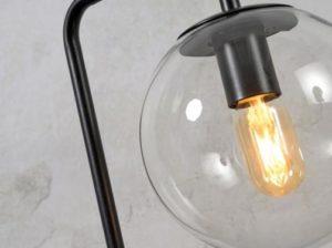 Lampa podłogowa Warsaw czarna It's About RoMi