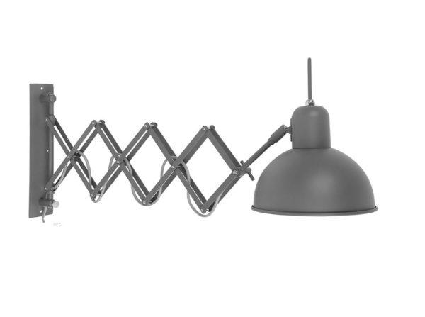 Lampa ścienna Aberdeen szara It's About RoMi