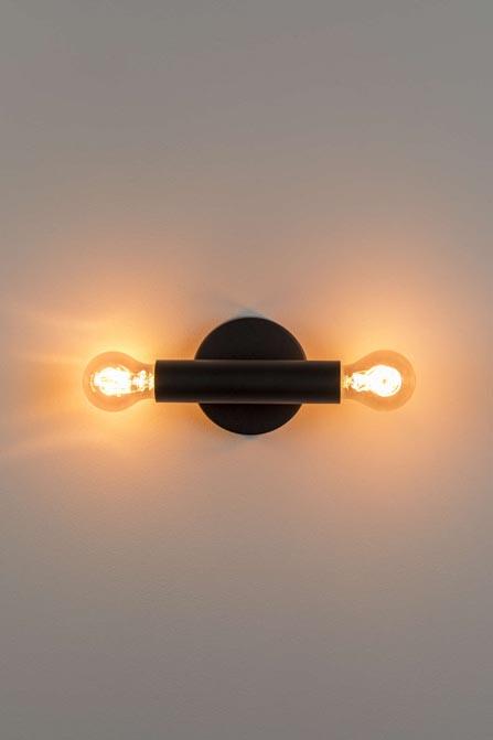 Lampa ścienna Hawk czarna Zuiver