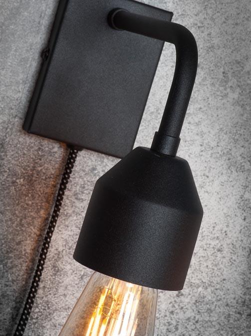 Lampa ścienna Madrid czarna It's About RoMi