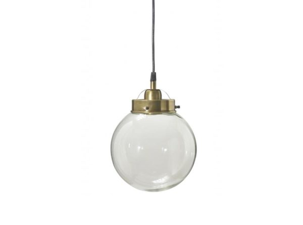 Lampa szklana kula Normandy PR Home