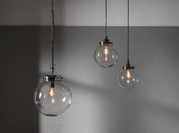 Lampa szklana kula Normandy PR Home