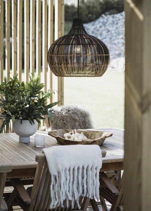 Lampa wiklinowa wisząca Martha PR Home