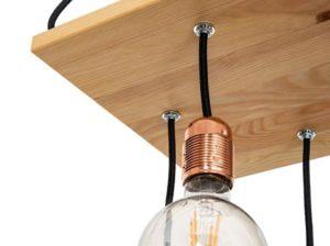 Lampa wisząca Chita natural Mabrillo