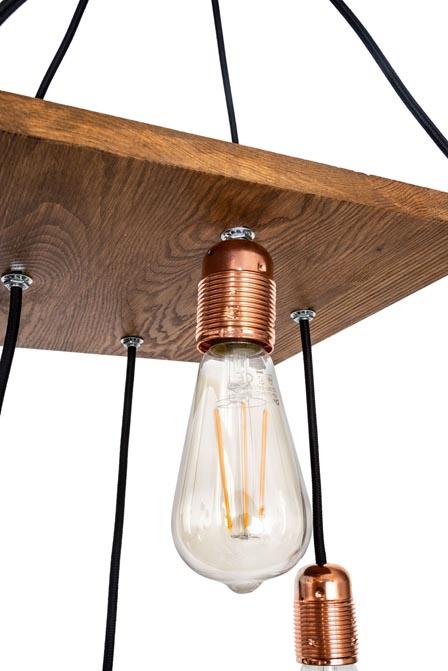Lampa wisząca Chita rustyk Mabrillo