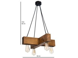 Lampa wisząca Dalwik rustyk Mabrillo