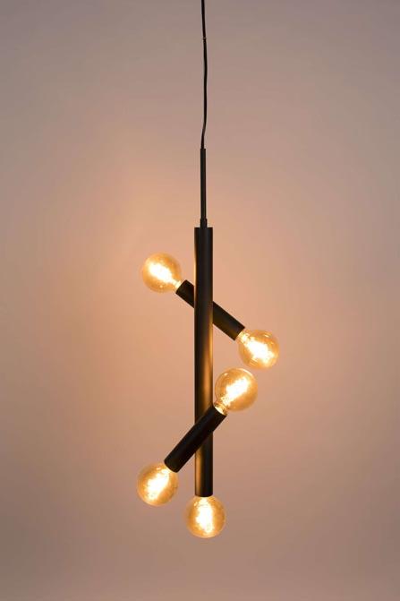 Lampa wisząca Hawk czarna Tall Zuiver