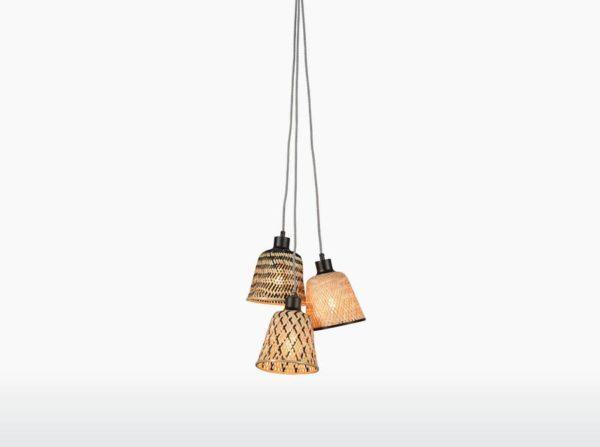 Lampa wisząca Kalimantan splot 3 Good&Mojo