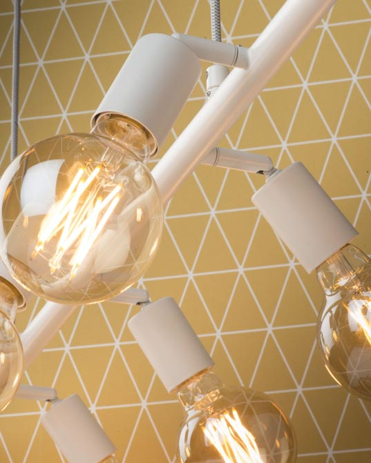Lampa wisząca Miami biała It's About RoMi